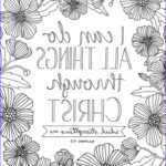 Adult Coloring Bible Awesome Photos Lds Coloring Page I Can Do All Things Through Christ