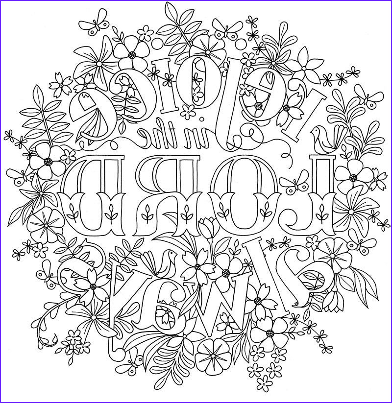 adult colouring page bible verse