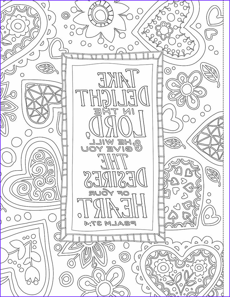 Adult Coloring Bible Inspirational Collection Inspiring Words Coloring Book 30 Verses From the Bible