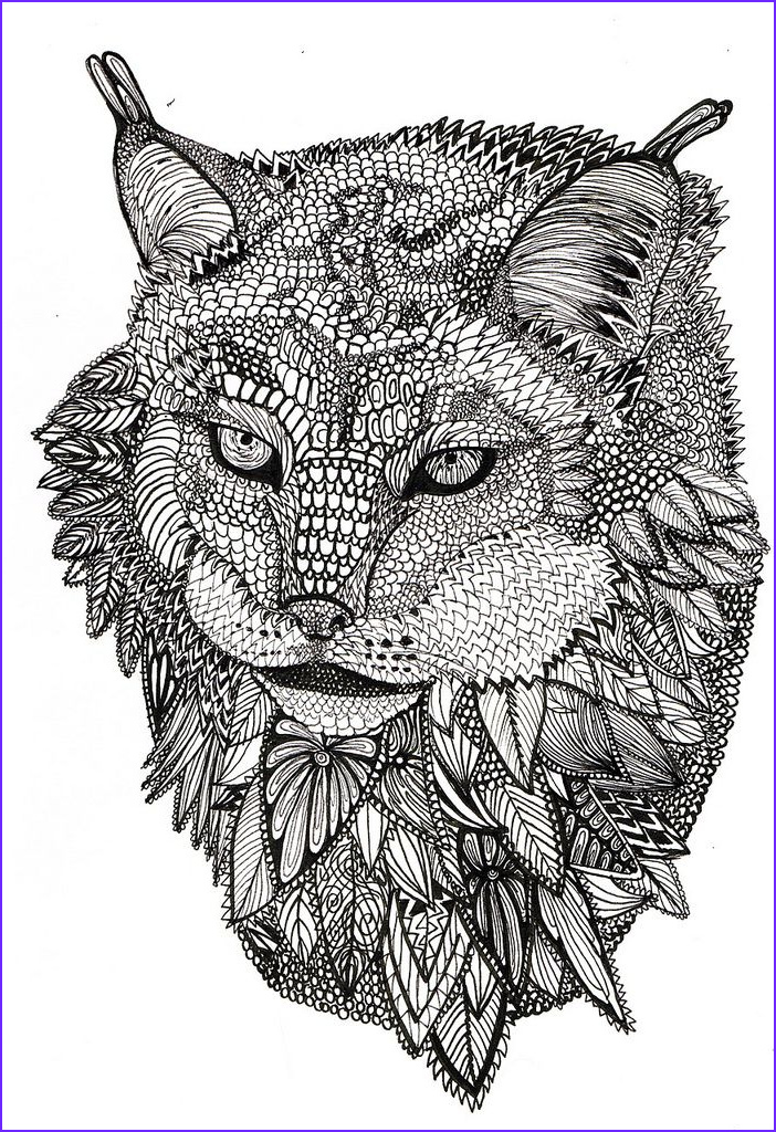animals coloring pages adults