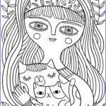 Adult Coloring Book Cat Beautiful Collection Best Coloring Books For Cat Lovers Cleverpedia