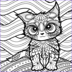 Adult Coloring Book Cat Best Of Image 494 Best Cats Dogs Coloring Pages For Adults Images On