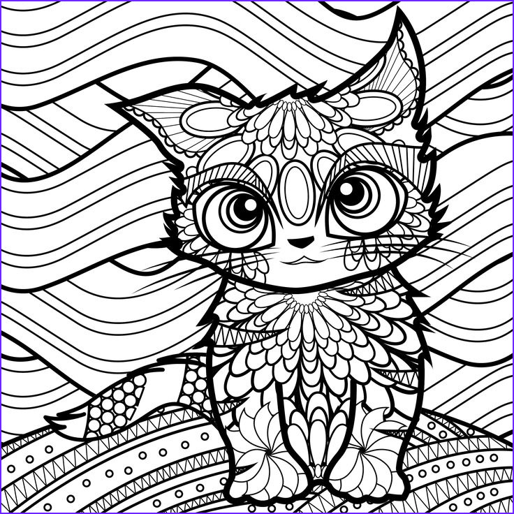 cats dogs coloring pages for adults