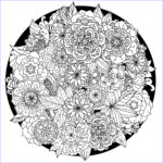 Adult Coloring Book Flowers Awesome Images 63 Adult Coloring Pages To Nourish Your Mental Visual