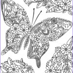 Adult Coloring Book Flowers Beautiful Photography 75 Best Images About Butterfly Coloring Pages On Pinterest