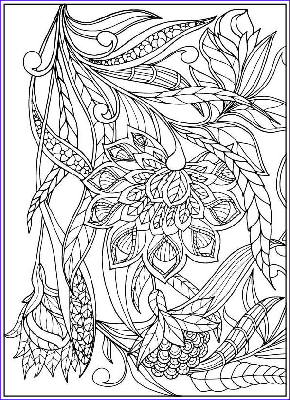 Adult Coloring Book Flowers New Images 235 Best Images About Coloring for Adults On Pinterest