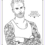 Adult Coloring Book For Men Cool Photos 32 Adult Coloring Book Pages Of Hollywood S Hottest Men