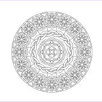 Adult Coloring Book Mandala Best Of Image 29 Printable Mandala & Abstract Colouring Pages For