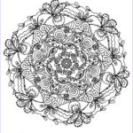 Adult Coloring Book Mandala New Collection Mindful Mandalas – Juste Etre Just Be