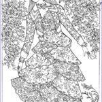 Adult Coloring Book Pages Fantasy Awesome Collection Creative Haven Fantasy Fashions Coloring Book