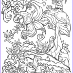 Adult Coloring Book Pages Fantasy Awesome Photos Floral Fantasy Digital Version Adult Coloring Book