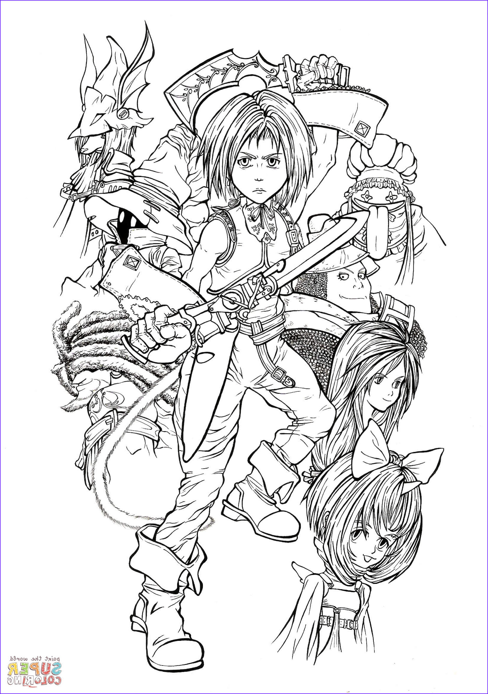 full time playable characters of final fantasy ix