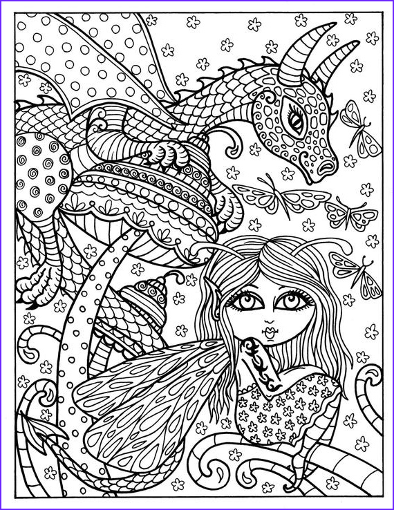 fairy and dragon instant adult