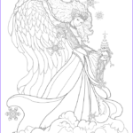 Adult Coloring Book Pages Fantasy Cool Photos Enchanted Designs Fairy & Mermaid Blog Free Fairy Fantasy