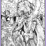 Adult Coloring Book Pages Fantasy Inspirational Photos Plex Adult Coloring Fantasy Google Search