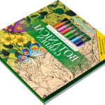 Adult Coloring Book Pencils Awesome Images Amazon Botanical Garden Adult Coloring Book Set With