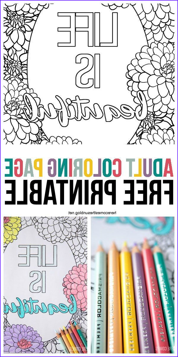 Adult Coloring Book Pencils Unique Gallery Adult Coloring Page Free Printable