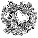 Adult Coloring Book Pictures Inspirational Stock Valentines Day Coloring Pages For Adults Best Coloring