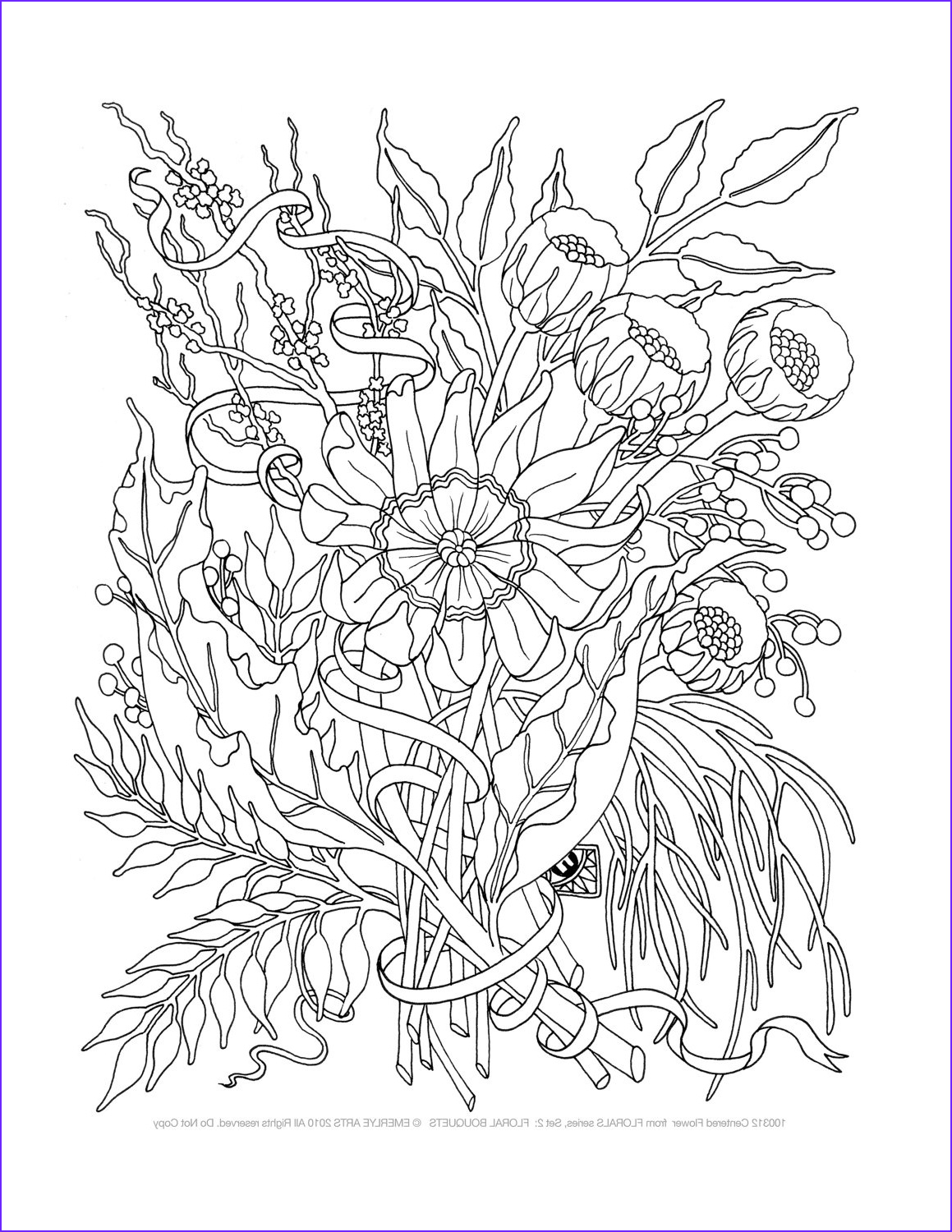 Adult Coloring Book Sets Best Of Images Adult Coloring Pages Floral Bouquets Set Of 8