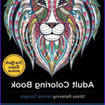 Adult Coloring Book Stress Relieving Animal Designs Beautiful Stock Adult Coloring Book Stress Relieving Animal Designs Buy