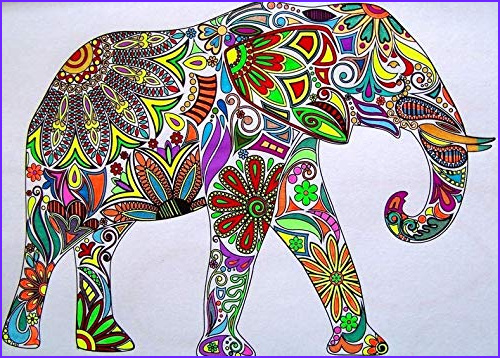 adult coloring book stress relieving animal designs paperback april 12 2015