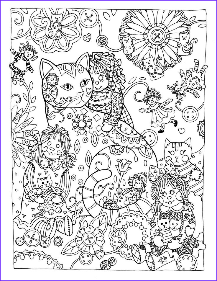 Adult Coloring Books Cats Beautiful Photos Creative Cats Colouring Book Rag Dolls by Marjorie