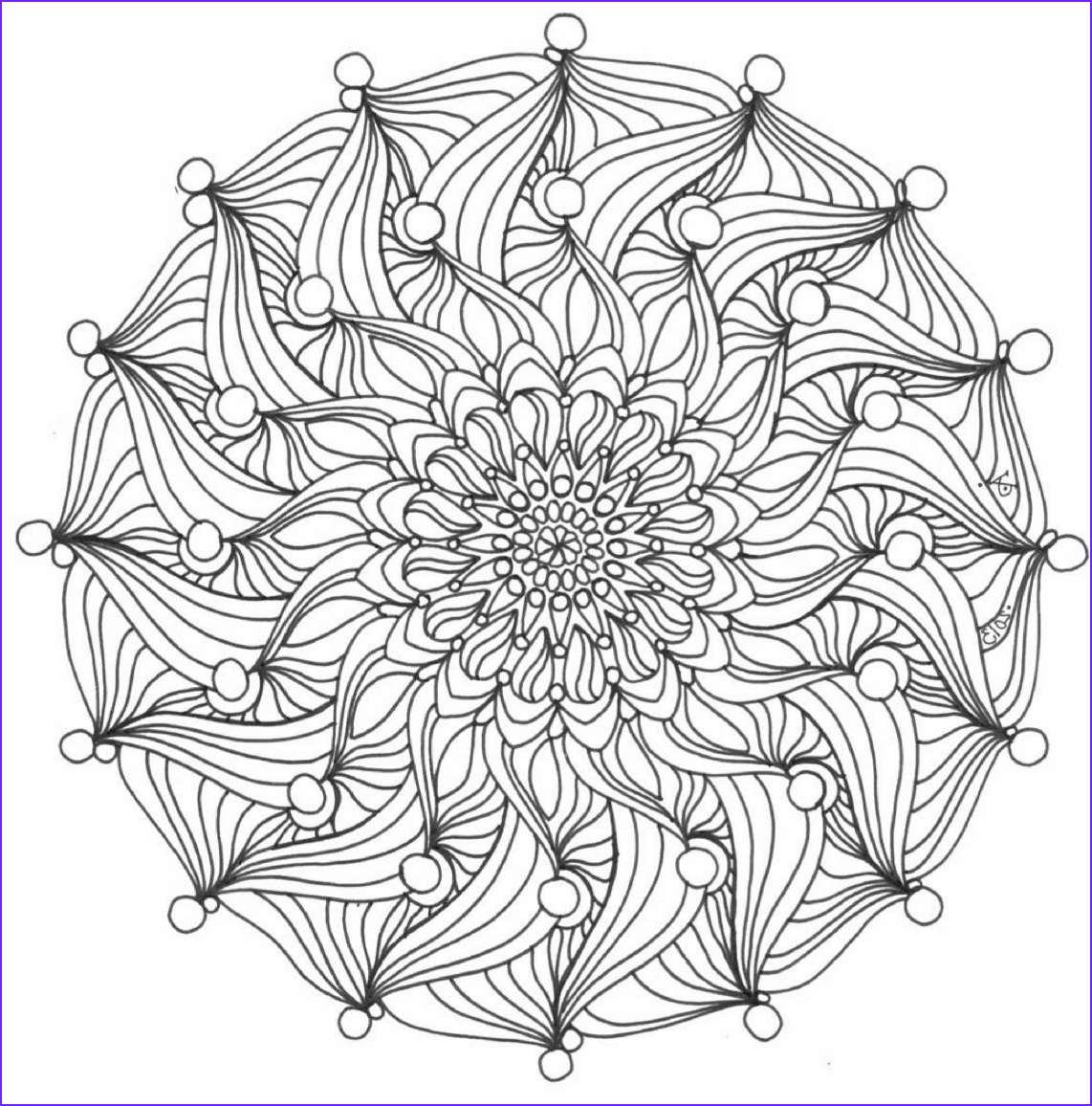 free colouring pages from color me calm