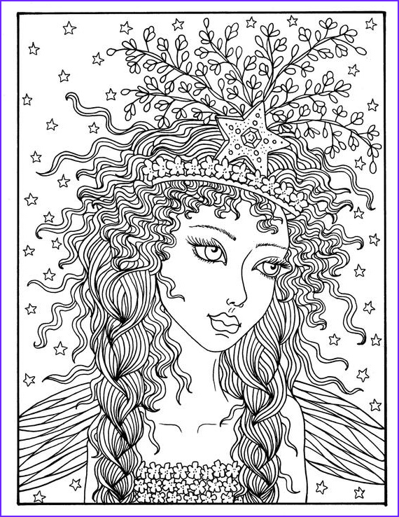5 pages fairies digital s