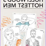 Adult Coloring Books For Men Cool Photos 32 Adult Coloring Book Pages Of Hollywood S Hottest Men