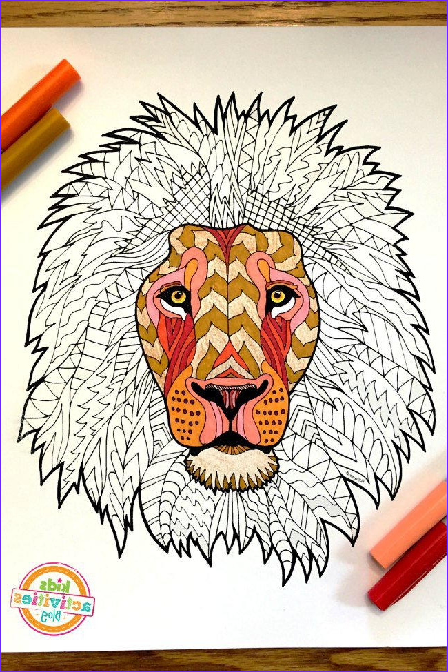 Awesome Coloring Pages For Men