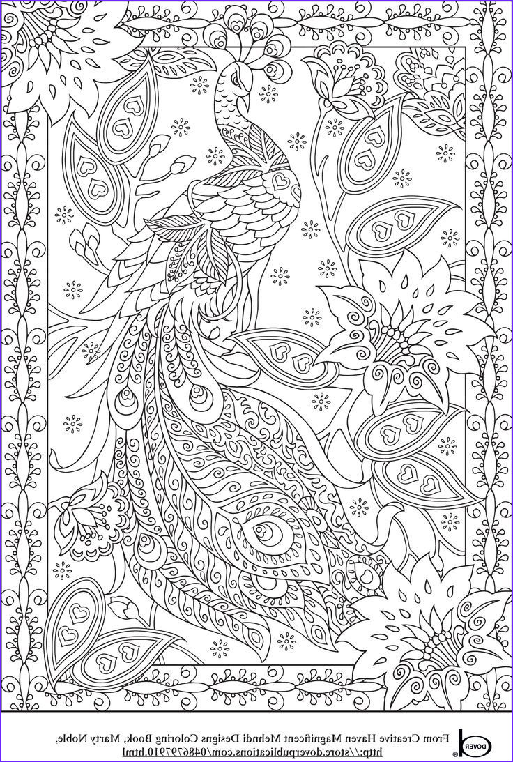 fancy coloring pages for adults