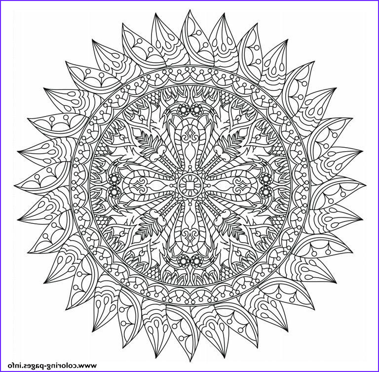 advanced mandala marvelous adults printable coloring pages book