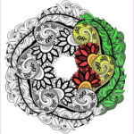 Adult Coloring Books Mandalas New Photos Mandalas Coloring Pages For Adults