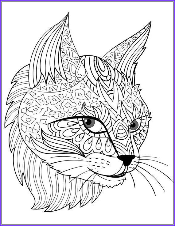 doodle art with cats