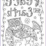 Adult Coloring Christmas Cards Beautiful Images 1185 Best Ö Adult Colouring Owls Birds Zentangles Ö