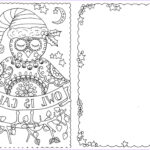 Adult Coloring Christmas Cards Luxury Images Printable Christmas Cards For Adults Christmas Printables
