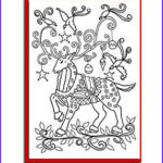 Adult Coloring Christmas Cards New Photos Amazon Christmas Cards For Coloring By Adults And