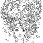 Adult Coloring Free Best Of Photos 10 Crazy Hair Adult Coloring Pages