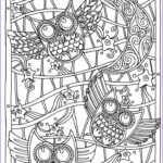 Adult Coloring Free New Photos Owl Coloring Pages For Adults Free Detailed Owl Coloring