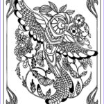 Adult Coloring Free Unique Gallery Printable Birds Coloring Pages For Adults