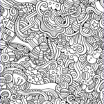 Adult Coloring Free Unique Images 10 Free Printable Holiday Adult Coloring Pages