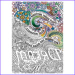 """Adult Coloring Markers Awesome Photos Adult Coloring Canvas 16""""x20"""" W 12 Markers Dream Walmart"""