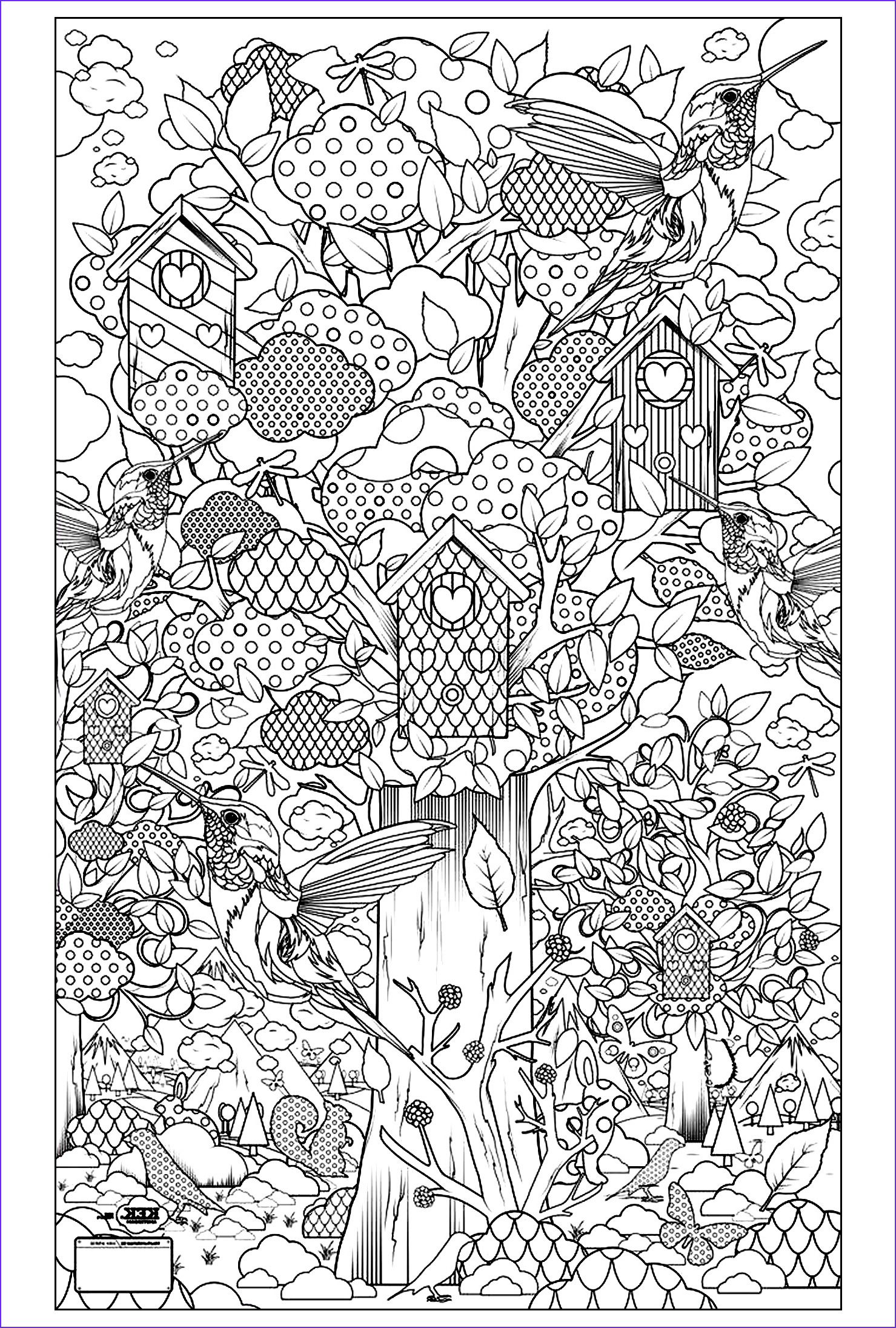 Adult Coloring Pages Birds New Collection Birds Guarden Birds Adult Coloring Pages
