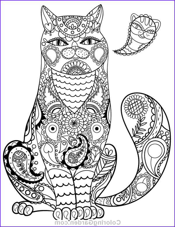 Adult Coloring Pages Cat Elegant Photos Pin by Muse Printables On Adult Coloring Pages at