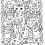 Adult Coloring Pages Cats Beautiful Photography Creative Cats Adult Colouring Book I Marjorie Sarnat
