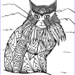 Adult Coloring Pages Cats Best Of Images 591 Best Color Pages Cats Images On Pinterest