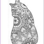 Adult Coloring Pages Cats Cool Gallery Adult Colouring Page Original Digital Download