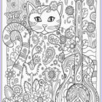 Adult Coloring Pages Cats Elegant Collection Cat Coloring Pages For Adult
