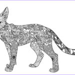 Adult Coloring Pages Cats Elegant Collection Free Printable Cat Coloring Pages For Kids