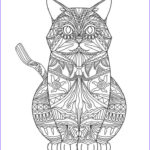 Adult Coloring Pages Cats Elegant Image Adult Coloring Pages Cats 3 2